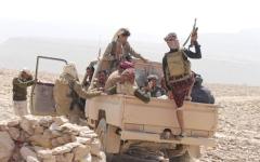 الصورة: الصورة: الشرعية تسيطر على مرتفعات في البيضاء