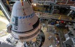 الصورة: الصورة: بوينغ ستقوم بتجربة جديدة لمركبتها الفضائية بعد مهمة فاشلة