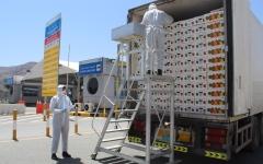 الصورة: الصورة: جمارك دبي تعمل على مدار الساعة لتسهيل مرور البضائع