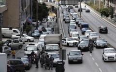 الصورة: الصورة: لبنان يغرق في الازدحام بعد تنظيم حركة السيارات!