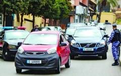 الصورة: الصورة: لبنان.. شوارع مختنِقة بحواجز «فردي ـ زوجي»