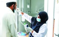 الصورة: الصورة: السعودية: إصابات «كورونا» قد تصل إلى 200 ألف