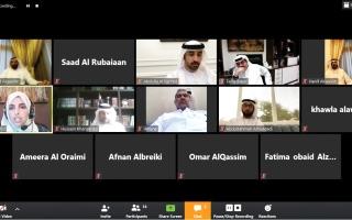 الصورة: الصورة: استضاف ندوة افتراضية حول تاريخ المجالس ومستقبلها في الإمارات