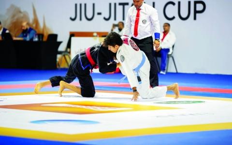 الصورة: الصورة: اتحاد الجوجيتسو يطلق مسابقة رياضية مبتكرة عن بُعد