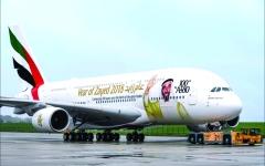الصورة: الصورة: طيران الإمارات ثالث أقوى علامة تجارية لناقلة في العالم