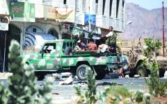 الصورة: الصورة: القوات  المشتركة تصل إلى مشارف عاصمة الجوف