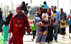 الصورة: الصورة: اللاجئون السوريون في الأردن.. البقاء أفضل من العودة