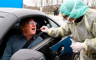 الصورة: الصورة: 108202 إصابة بفيروس كورونا في ألمانيا و2107 وفيات