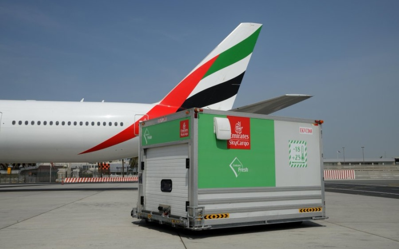 الصورة: الصورة: مطارات دبي تتحرك لدعم الارتفاع في عمليات الشحن أثناء تفشي كورونا