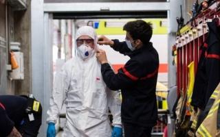 الصورة: الصورة: وفيات فيروس كورونا في سويسرا ترتفع إلى 756