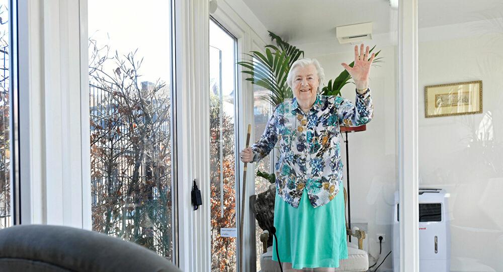 عجوز عمرها 107 أعوام أكبر ناجية في العالم من كورونا