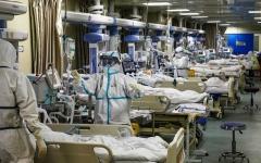 الصورة: الصورة: وفيات كورونا في الولايات المتحدة تتخطى 15 ألفاً
