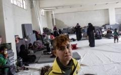الصورة: الصورة: ملعب إدلب الرياضي  أرقى مخيمات النازحين!