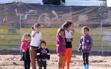الصورة: الصورة: «الزعتري».. بهجة الشهر الفضيل وتحديات الجائحة