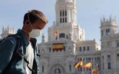 الصورة: الصورة: إسبانيا تسجل أقل حصيلة وفيات بكورونا منذ شهر