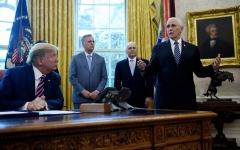 الصورة: الصورة: ترامب في مهب الانتقادات بشأن حقن المعقّمات لعلاج كورونا
