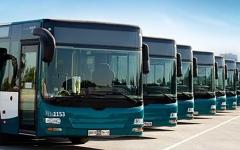 الصورة: الصورة: استئناف خدمات حافلات النقل العام في أبوظبي ابتداء من 6 صباح اليوم