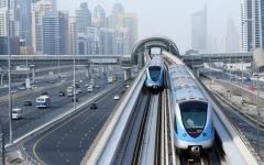 الصورة: الصورة: مترو دبي يستأنف رحلاته غداً