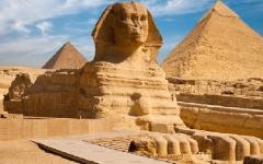 الصورة: الصورة: خبير آثار يكشف لـ«البيان» حقيقة وجه «أبو الهول»