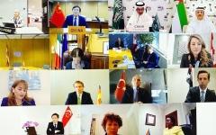 الصورة: الصورة: الإمارات تشارك في الاجتماع الاستثنائي لوزراء السياحة بدول العشرين