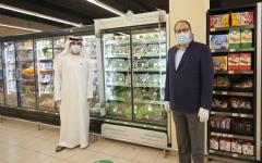 الصورة: الصورة: «ماجد الفطيم» تطلق أول مزرعة مائية داخل سوبر ماركت في دبي