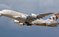 """الصورة: الصورة: """"الاتحاد للطيران"""" تزيد رحلات الركاب الخاصة إلى 15 وجهة"""