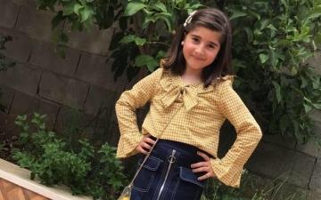 الصورة: الصورة: سيلين.. براءة الطفولة التي وقعت في شباك «كورونا»