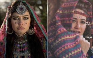"""الصورة: الصورة: """"ليلى علوي الأفغانية"""" تحيّر الجماهير"""