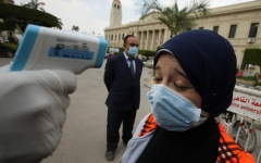 الصورة: الصورة: مصر تسجل 272 إصابة جديدة بفيروس كورونا