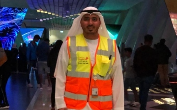 الصورة: الصورة: سعدي جعرور.. مهندس السلامة المهنية والطوارئ