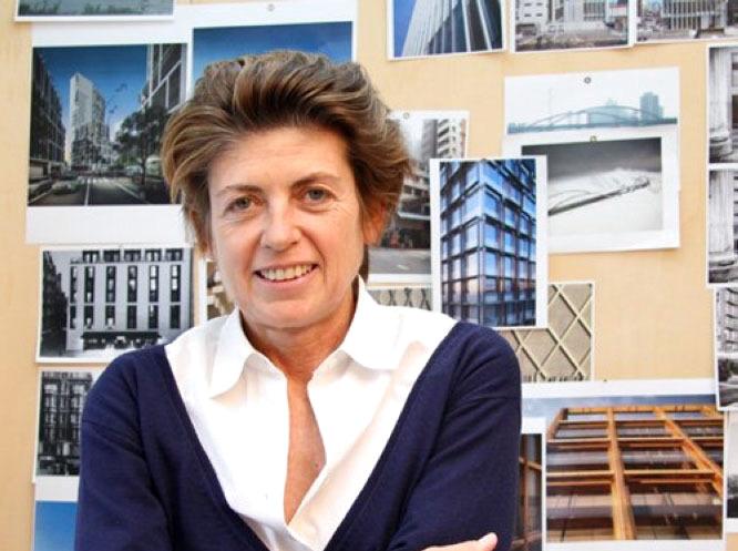الصورة : باتريشيا فيل - مهندسة معمارية، ومؤسسة مشاركة لشركة الهندسة المعمارية والتصميم الدولية (أنطونيو سيتيريو باتريشيا فيل).
