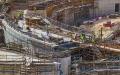 الصورة: الصورة: الأعمال تتواصل في مشاريع إكسبو دبي رغم التأجيل والجائحة