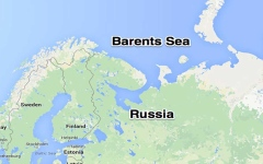 """الصورة: الصورة: مدمّرات أمريكية تقترب من المياه الإقليمية الروسية للمرة الأولى منذ """"الثمانينات"""""""