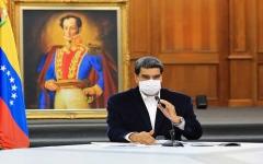 الصورة: الصورة: الرئيس الفنزويلي: أحبطنا محاولة انقلاب لحساب غوايدو واعتقلنا منفذيْها الأمريكيْين