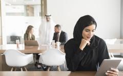 الصورة: الصورة: 5.1 ملايين موظف في القطاع الخاص الإماراتي بنهاية 2019