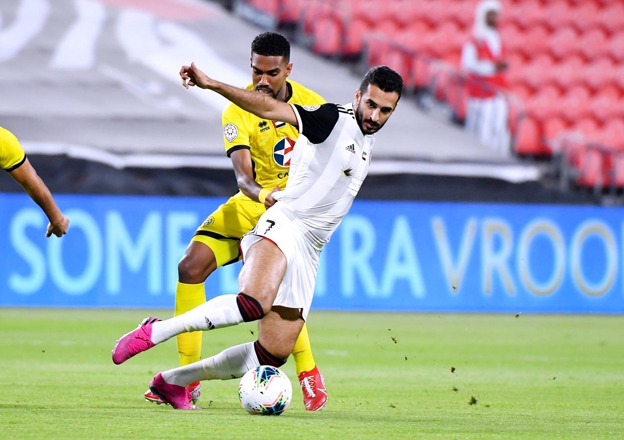 الصورة : علي مبخوت خلال إحدى مباريات الدوري  |   أرشيفية