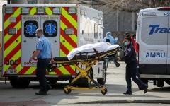 الصورة: الصورة: 2073 وفاة بكورونا في أمريكا خلال 24 ساعة