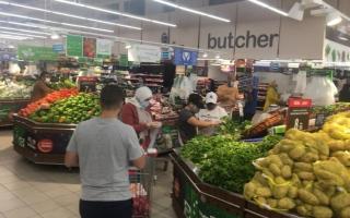 الصورة: الصورة: توفر السلع الغذائية بمنافذ البيع ووجود مخزون استراتيجي لمدة 6 أشهر بعجمان