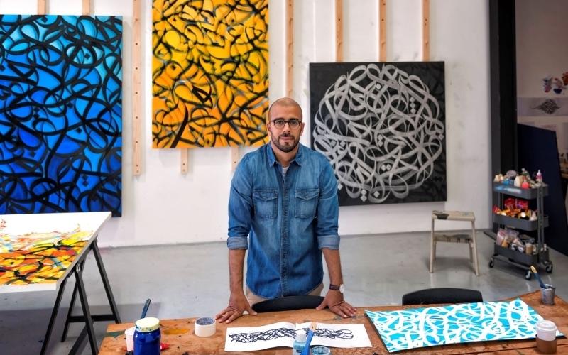 الصورة: الصورة: عرض تشكيلي تفاعلي  من «أبوظبي للثقافة»