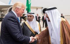 الصورة: الصورة: البيت الأبيض: ترامب والملك سلمان اتفقا على أهمية استقرار أسواق الطاقة