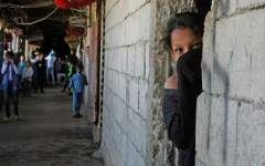 الصورة: الصورة: اللاجئون السوريون.. فقر وجوع.. وكورونا