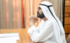 """الصورة: الصورة: محمد بن راشد يفتتح اجتماع الاستعداد لمرحلة ما بعد """"كوفيد - 19"""" لحكومة دولة الإمارات"""