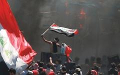 الصورة: الصورة: العراق.. ساحات الاحتجاج تستنفر  ضد «صفقات الأحزاب»