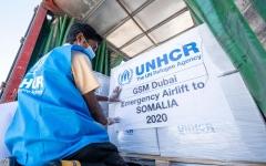 الصورة: الصورة: محمد بن راشد يأمر بمساعدات عاجلة للصومال