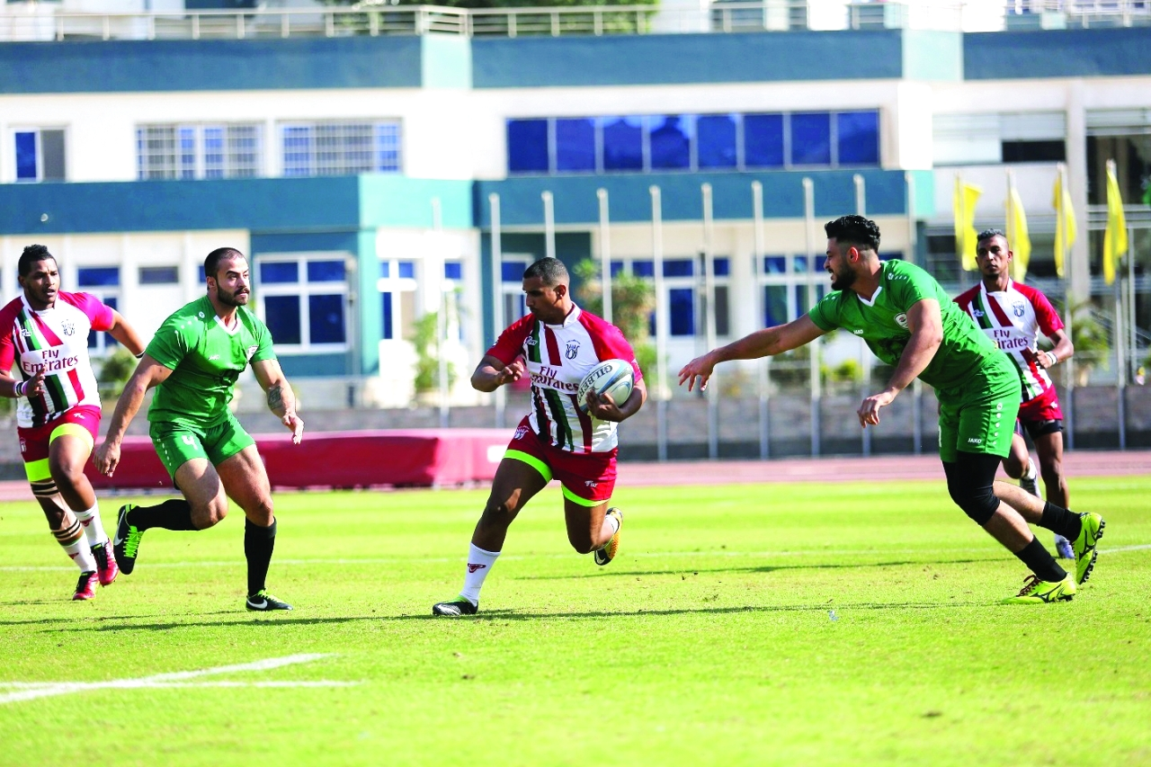 الصورة : جانب من مباراة منتخبي الإمارات والعراق | أرشيفية