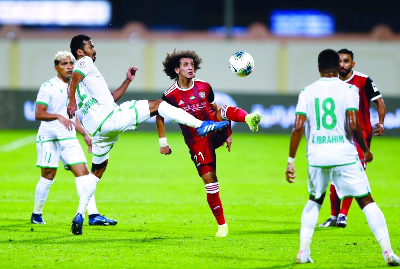 الصورة : جانب من إحدى مباريات دوري الخليج العربي | أرشيفية