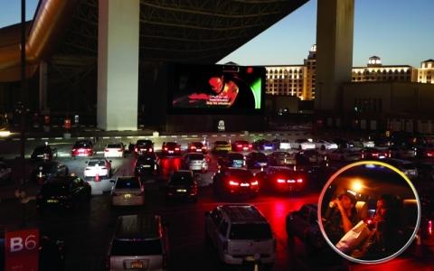 الصورة: الصورة: سينما السيارات بدبي