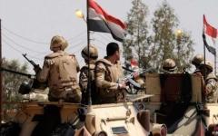 الصورة: الصورة: الجيش المصري يعلن مقتل 13 إرهابياً في سيناء