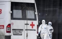 الصورة: الصورة: روسيا تسجل 9200 إصابة جديدة بكورونا