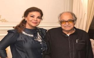 الصورة: الصورة: لماذا غابت الفنانة صفاء أبو السعود عن جنازة زوجها صالح كامل؟